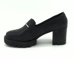Черные туфли из эко кожи