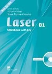 Laser New Edition B1 Workbook with Key + CD Pack