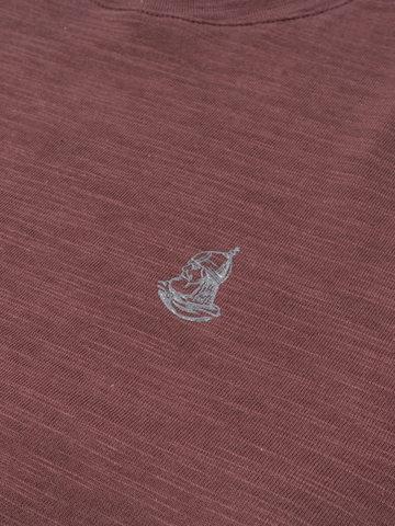 """Men's """"VELIKOROSS"""" burgundy t-shirt"""