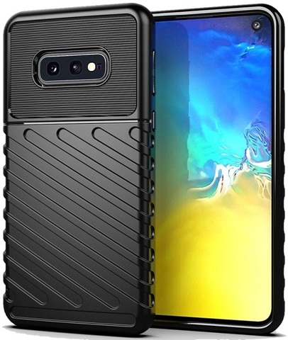 Чехол для Samsung Galaxy S10e цвет Black (черный), серия Onyx от Caseport