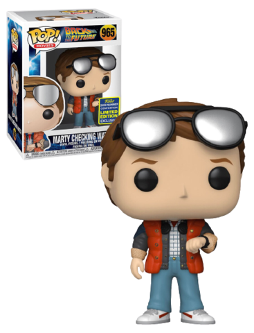 Marty cheking watch (SDCC) Funko Pop! || Марти (Back to the Future)