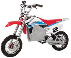 Электро-минибайк Razor SX500 McGrath бело-сине-красный