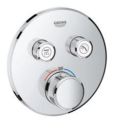 Термостат для душа встраиваемый на 2 потребителя Grohe  29119000 фото