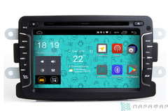 Штатная магнитола 4G/LTE с DVD для Renault Sandero на Android 7.1.1 Parafar PF157D