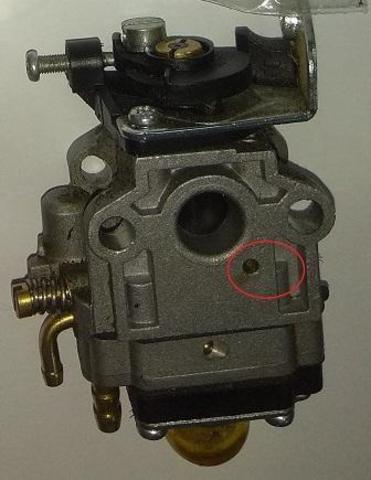 Карбюратор DDE триммера GB26RD/ GB33RD (02.04.0050)