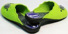 Красивые женские тапочки Inblu NC- 1B Mouse Light Green