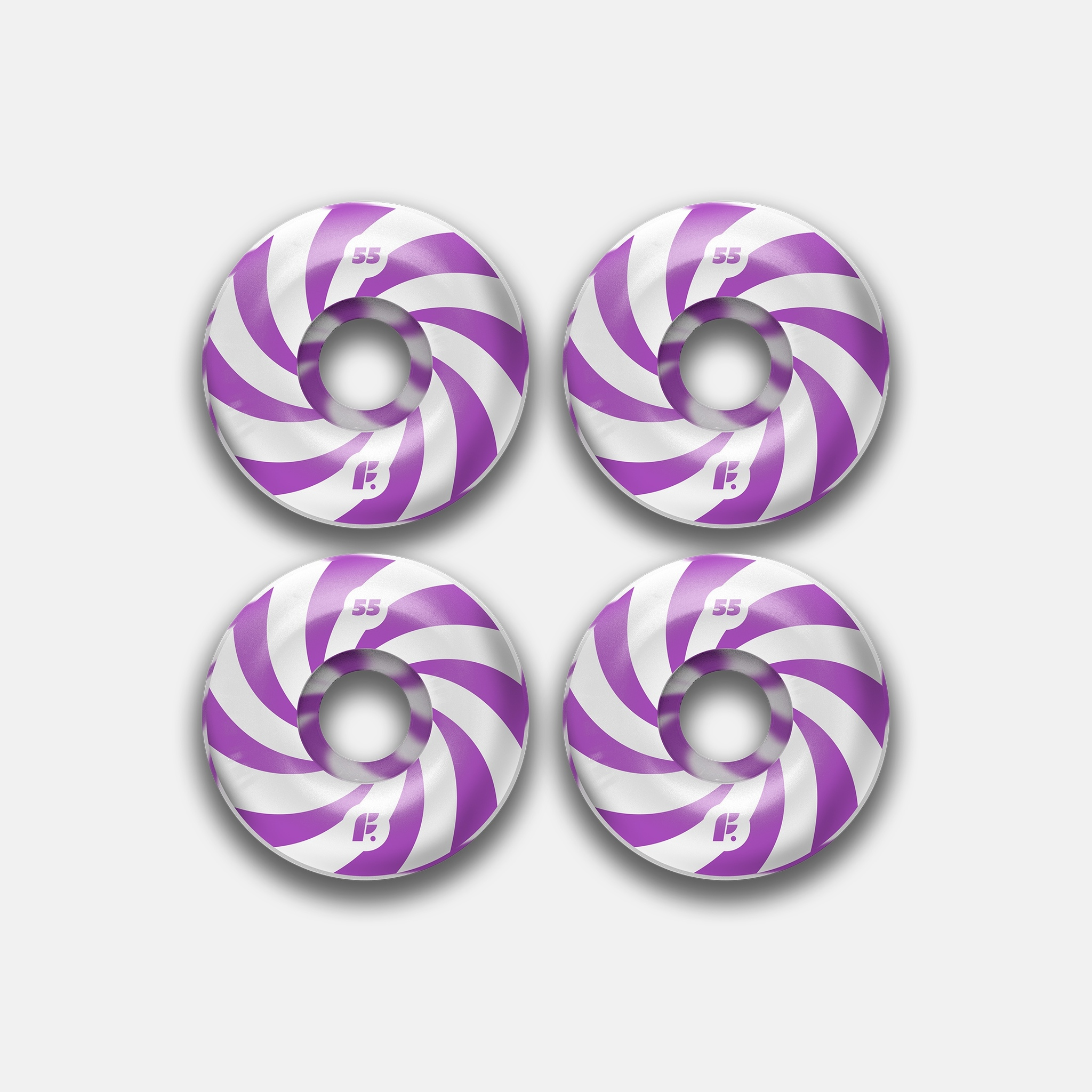 Колеса Footwork Swirl Purple