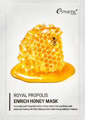 Esthetic House Маска для лица Royal Propolis Enrich Honey Mask 25 мл