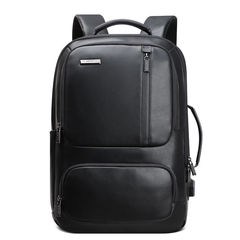 Рюкзак-трансформер с расширением BOPAI 851-023911 нат.кожа чёрный