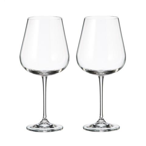 Набор бокалов для вина Crystalite Bohemia Аrdea/Amudsen 670 мл, 2 шт