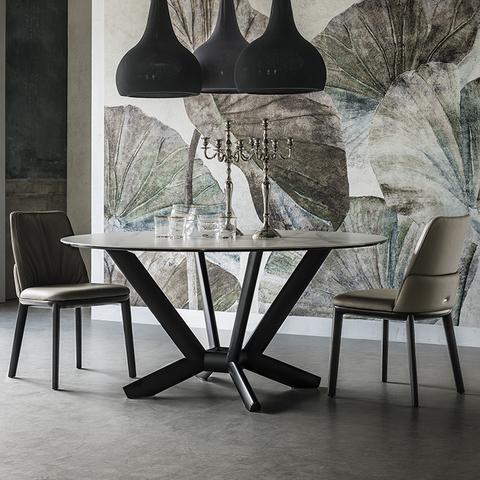 Обеденный стол planer keramik round, Италия