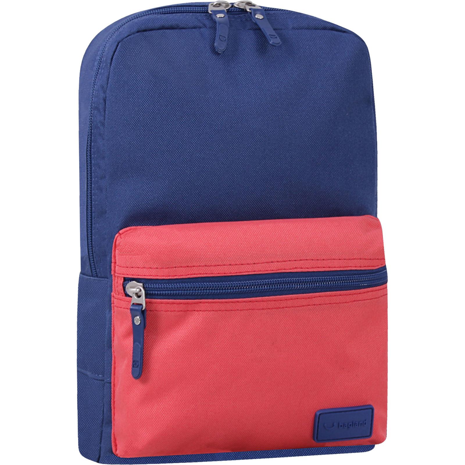 Детские рюкзаки Рюкзак Bagland Молодежный mini 8 л. Синий/красный (0050866) IMG_6801-1600.jpg