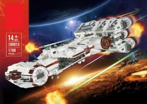 Конструктор Lion King 180015 Star Plan Блокадный корабль повстанцев Тантив 4