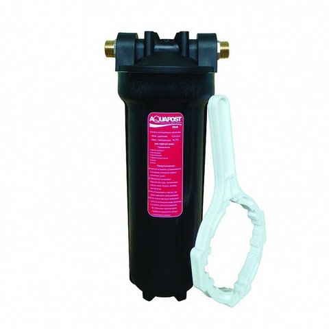 Фильтр  Aquapost Hot 1/2 ( механич.очистка  г/в, черный)