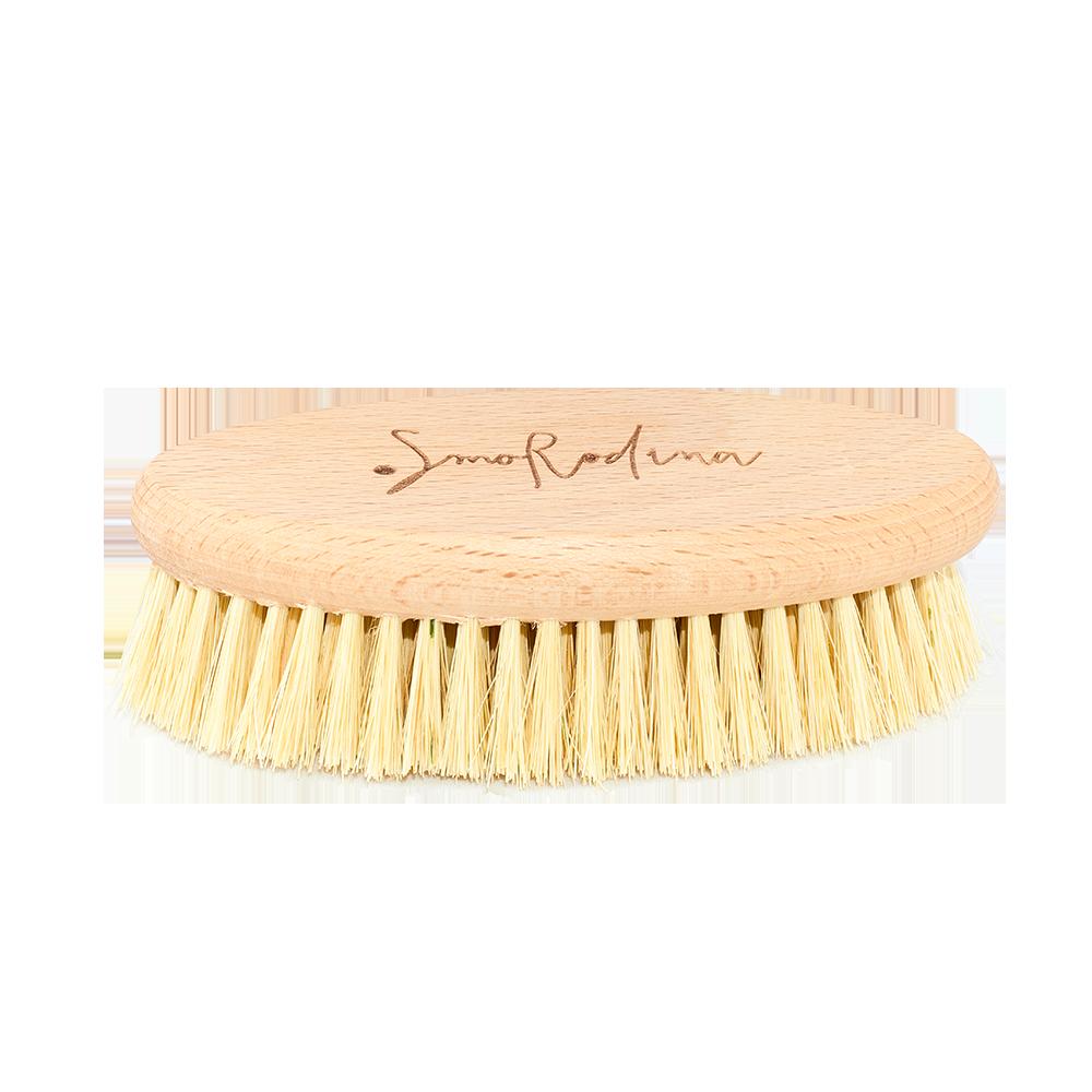 Щетка для сухого массажа без ручки SmoRodina