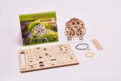 3D-пазл из дерева Wood Trick Вудик Лягушка