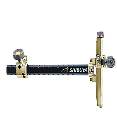 Прицел для лука спортивного Shibuya Sight 485-9 Ultima II RC Recurve Carbon Gold