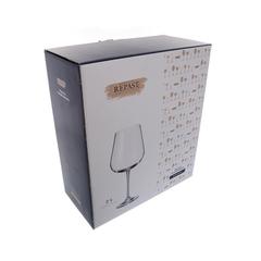 Набор бокалов для вина Crystalite Bohemia Аrdea/Amudsen 670 мл, 2 шт, фото 2