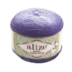 Пряжа Alize Bella Ombre Batik цвет 7406