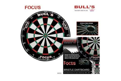 Мишень для дартса Bull's Focus, сизаль, бесскобная, 0.8 мм (артикул 68005)