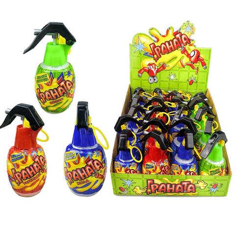 Жидкая конфета-спрей Граната 1кор*8бл*20шт 60 мл.