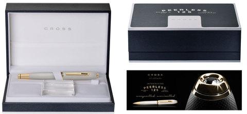 Cross Peerless 125 - Platinum ST, перьевая ручка, F, BL