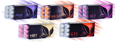APL. Набор драже 9 коробок: PWR man+MLS+ALT+HRT +GTS для мужского здоровья