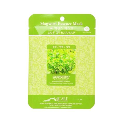 Тканевая маска с экстрактом полыни Mijin Cosmetic MJ Care Mugwort Essence Mask