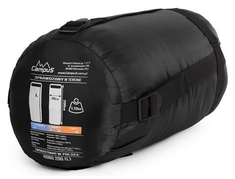 Спальный мешок Campus HOBO 200 XL (одеяло, +3°С, 215x90 см)