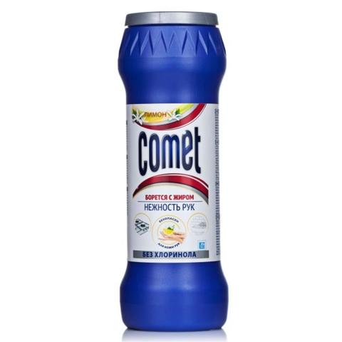 Средство чист COMET Лимон б/хлоринола 475 г банка РОССИЯ