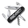 Нож Victorinox Morgarten LE, коллекционный, 91 мм, 9 функций, черный (подар. упаковка)