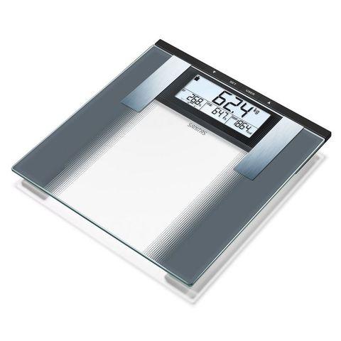 Весы напольные электронные Sanitas (S-SBG21) макс.180кг прозрачный