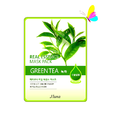 JLuna Real Essence Mask Green Tea