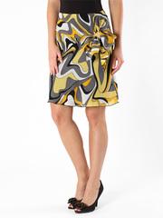 6214-2 юбка желтая