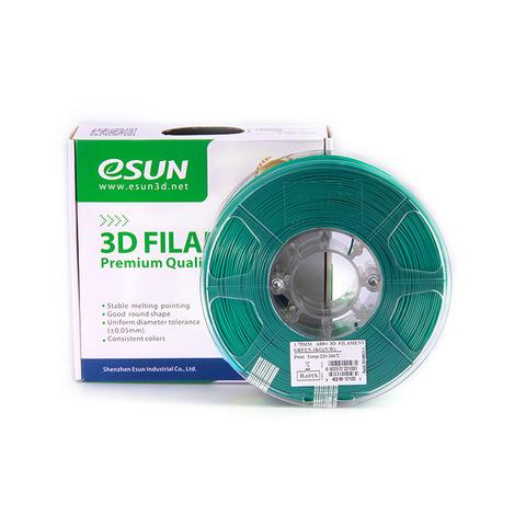 ESUN ABS+ 1.75 мм, 1 кг, зеленый