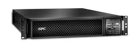Источник бесперебойного питания APC Источник бесперебойного питания APC Smart-UPS SRT, On-Line, 2200VA / 1980W, Rack/Tower, IEC, LCD, Serial+USB, SmartSlot, подкл. доп. батарей