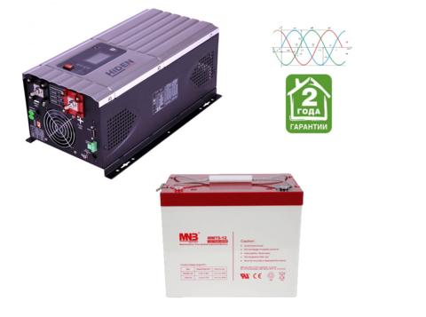 Комплект ИБП HPS30-1012-АКБ MM75 (12в, 1000Вт)