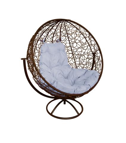 Кресло вращающееся Milagro brown/grey