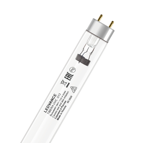 Лампа Бактерицидная Osram TIBERA UVC 30W T8 G13