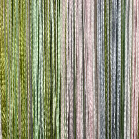 Кисея радуга Белая, розовая, серая, оливковая. Ш-300см., В-280см. Арт.108