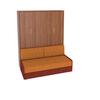 Шкаф-кровать вертикальная с диваном без подлокотников Эволюция