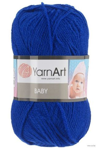 Пряжа YARNART BABY № 979 синий