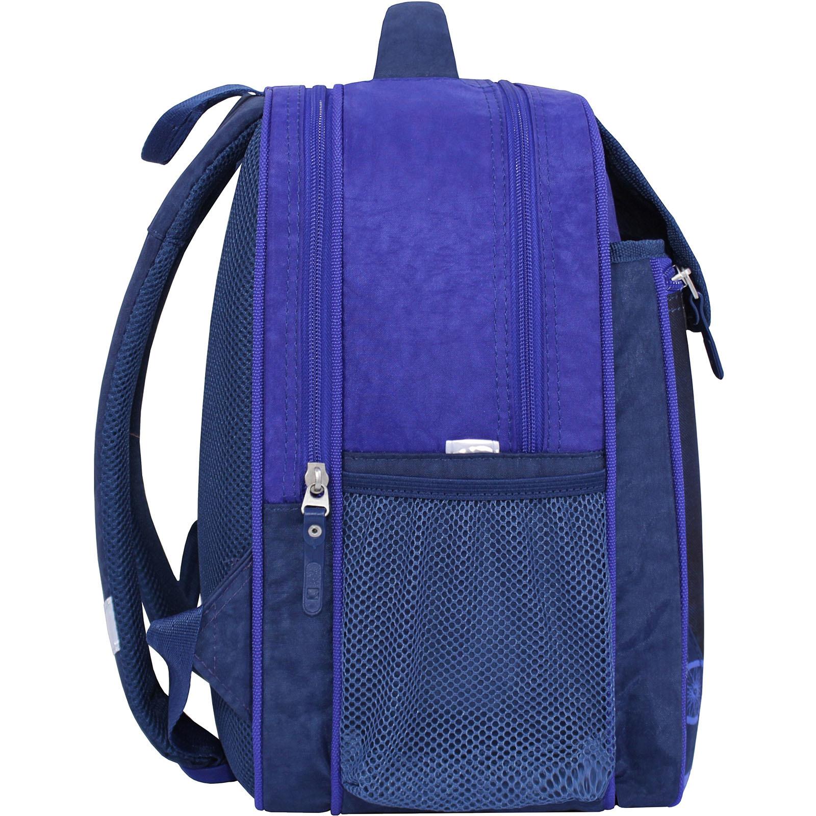 Рюкзак школьный Bagland Отличник 20 л. 225 синий 507 (0058070) фото 2