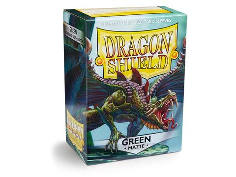 Протекторы Dragon Shield матовые Green (100 шт.)