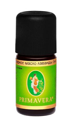 PRIMAVERA LIFE Эфирное масло лаванды био, 5мл