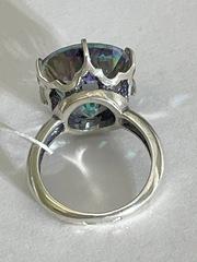 Физалис (кольцо из серебра)