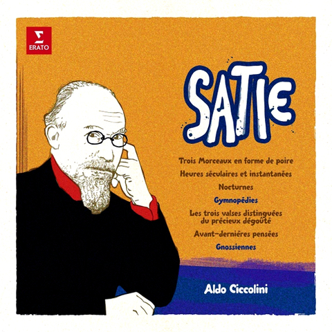 Aldo Ciccolini / Satie: Gymnopedies, Gnossiennes And Etc. (LP)