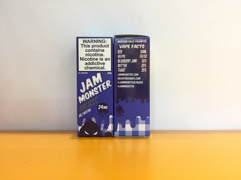 Blueberry by JAM MONSTER SALT 30ml