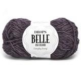 Пряжа Drops Belle 19 темно-фиолетовый