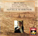 "Neville Marriner, The Academy Of St. Martin-In-The-Fields / Wolfgang Amadeus Mozart: Sinfonien, Symphonies No. 36 ""Linzer"" - No. 40 (CD)"